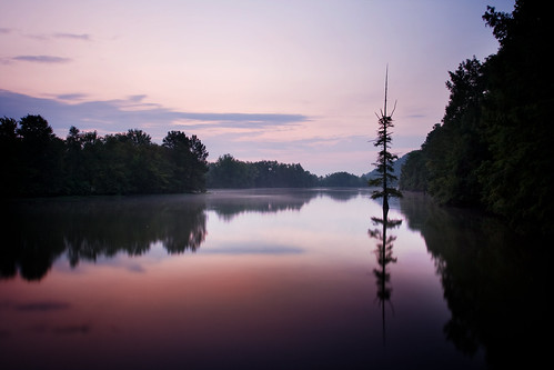 Dawn on the Maumelle River
