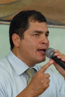 Guayaquil, Sr. Presidente Rafael Correa, en recorrido por Colegio Vicente Rocafuerte.