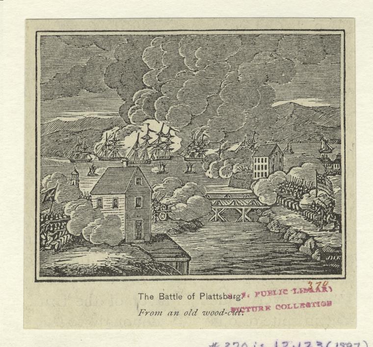 The Battle of Plattsburg.