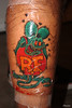 Ce fini Tatuaje de mi