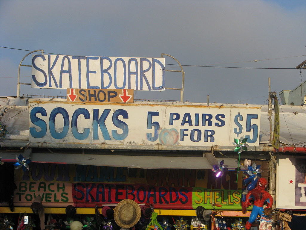 When I wanna buy socks, I buy them @ Venice Beach, Califor…   Flickr