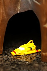 thunderbird four deploys from cave   matchbox tracy …