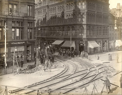 Neville Street - Grainger Street junction