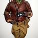 G.I. Joe Action Figure Tuskigie Airman Pilot 0005