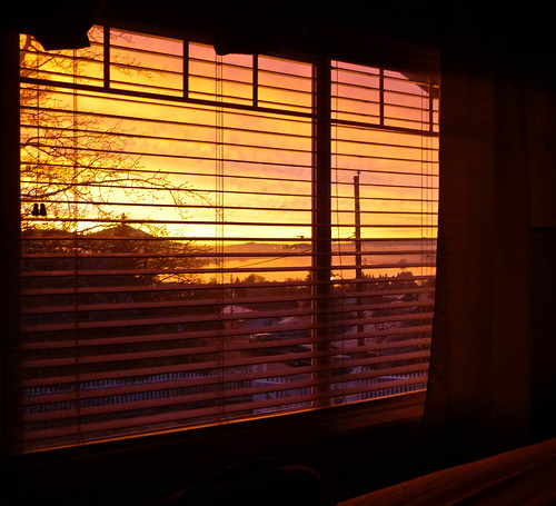 Bedroom Window Sunrise