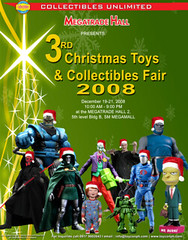 xmas toycon 2008 poster 22  x 28 inches (Large)