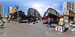 Tsukiji outer market: in the front of  Kibun home office
