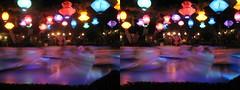 Disneyland - Tea Party at Night Stereogram 2