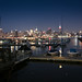 NYC Skyline and Hoboken Boat Dock by r0sss