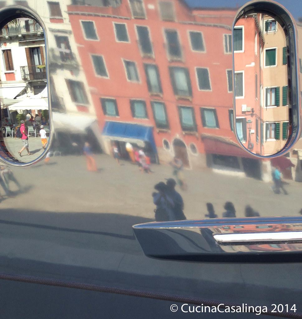 Venedig Schiff Spiegel