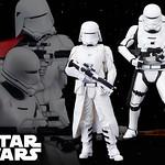 壽屋 ARTFX+ 星際大戰系列【第一軍團雪地兵、火焰兵】First Order Snow Trooper & Flame Trooper 1/10 比例雕像作品