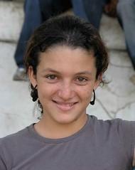 Retrato de una joven bonita - Portrait of a pretty young woman; Jinotega, Nicaragua