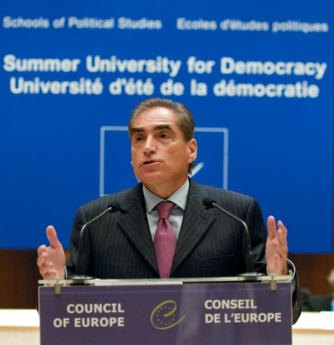 Petre Roman, Former Prime Minister or Romania - Council of Europe, Strasbourg