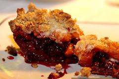 falling apart   blackberry apricot pie