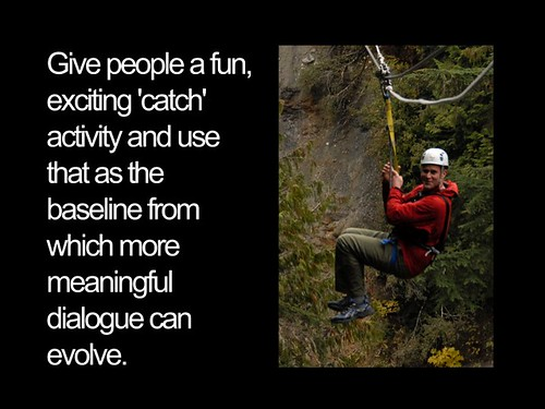 give people a fun activity