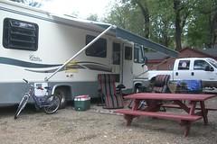 bumper(0.0), automobile(1.0), automotive exterior(1.0), vehicle(1.0), transport(1.0), trailer(1.0), land vehicle(1.0), recreational vehicle(1.0), travel trailer(1.0),