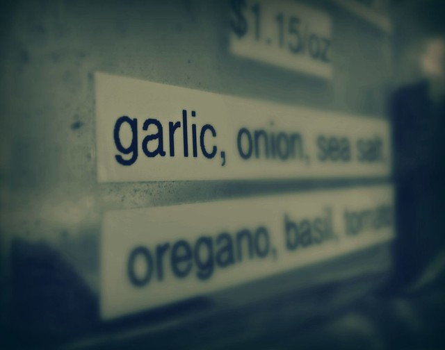 It's all about the Garlic.