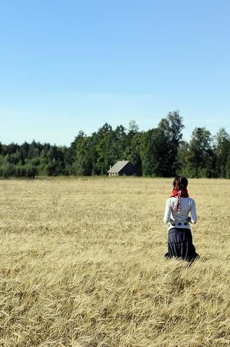 Cropgirl 2 by Mait Jüriado