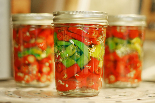 Pickled Hot Peppers | Flickr - Photo Sharing!