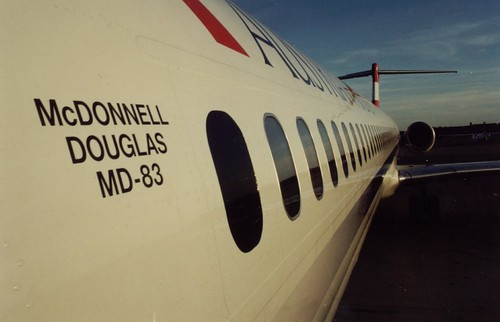 Austrian Airlines MD-83 OE-LME Vienna / Bécs