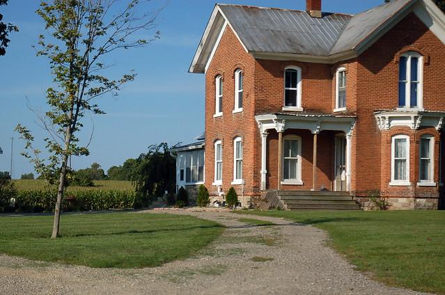 Nice Brick Farmhouse, M60   Flickr - Photo Sharing!