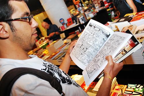 Paixão pelos quadrinhos