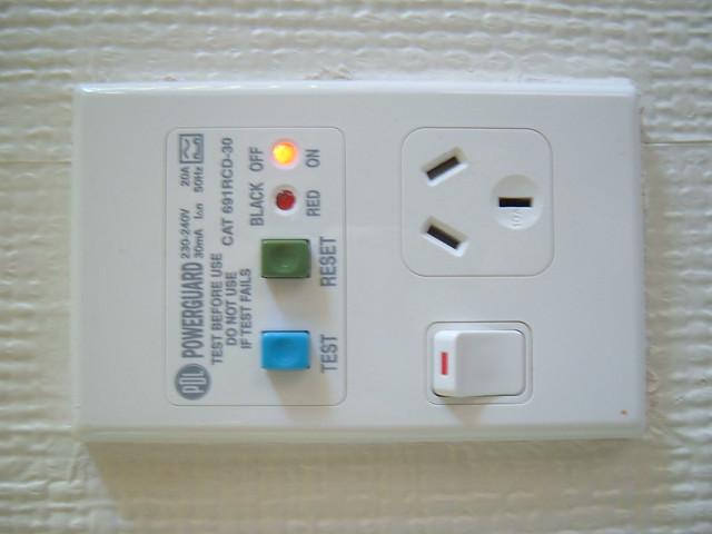 New Zealand Bathroom Power Socket Flickr Photo Sharing