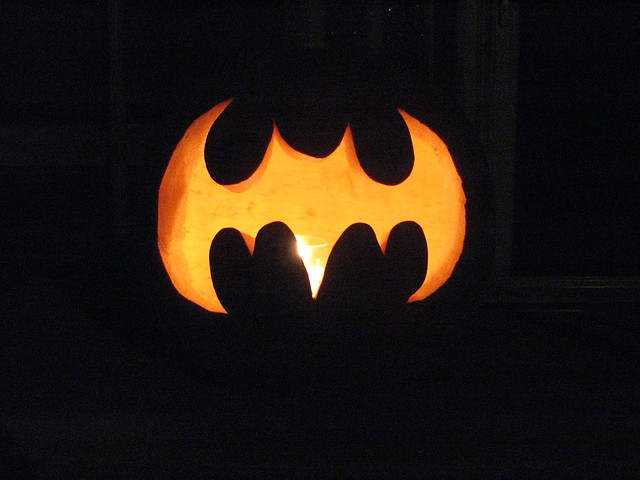 Bat Signal Jack O Lantern Flickr Photo Sharing
