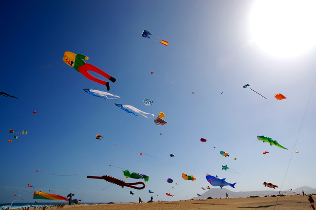 Festival de Cometas de Corralejo-Fuerteventura
