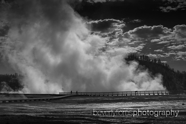Steam cloud, Yellowstone | Flickr - Photo Sharing!
