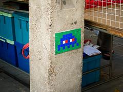 Space Invader in Bangkok