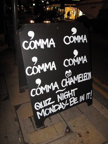 When to Use a Comma. Photo Credit – Flickr: duncan