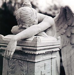 Angel Weeping on Stone