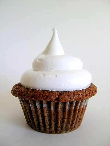 Nutella Cupcakes With Marshmallow Frosting | Flickr - Photo Sharing!