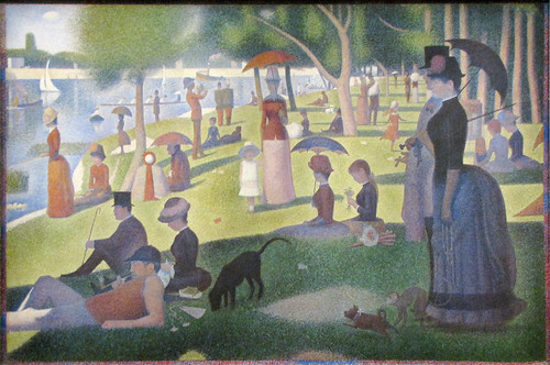 """A Sunday on La Grande Jatte—1884"" by Georges Seurat"