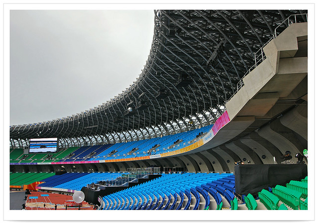 3162 台灣特色建築  國家體育館 設計師 伊東豊雄 Toyo Ito * 高雄 左營 - 世界運動會 世運主場館*  The World Games 2009 in Kaohsiung - Main Stadium . Kaohsiung City . TAIWAN