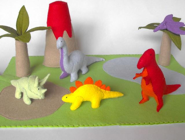Dinosaur Play Mat Pattern Flickr Photo Sharing