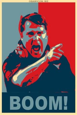 coach boom will bring home the W like Obama vs. McCain