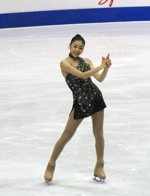 Kim Yu-Na at Skate America
