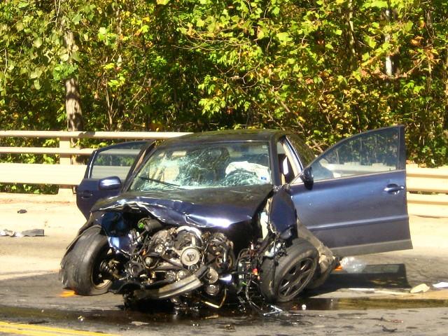 Georgia Car Crash With Light