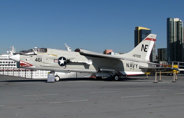 VF 24 F 8 Crusader http://www.flickr.com/photos/burneraviation/4113340375/
