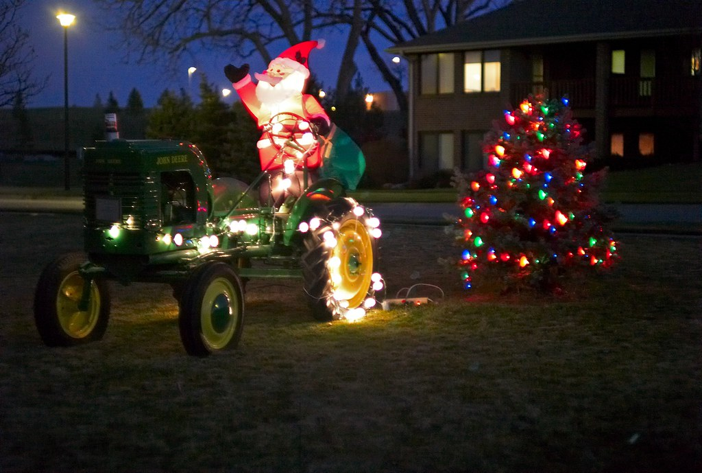 Santa's Deere, November, 2009