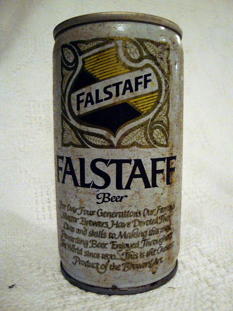 Antique Falstaff Beer Can | Antique 12oz Falstaff Beer can ...