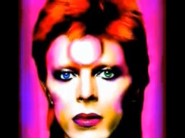 bowie as ziggy, i think...