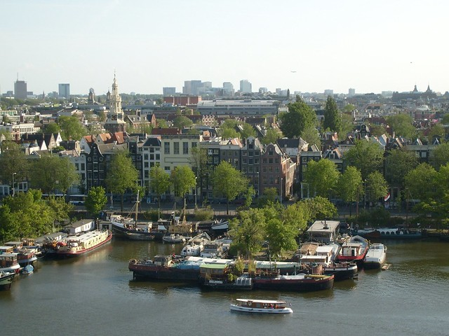 Amsterdam by CC user inyucho on Flickr