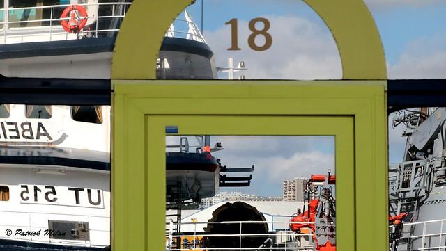 18 - Abeille Bourbon window reflection