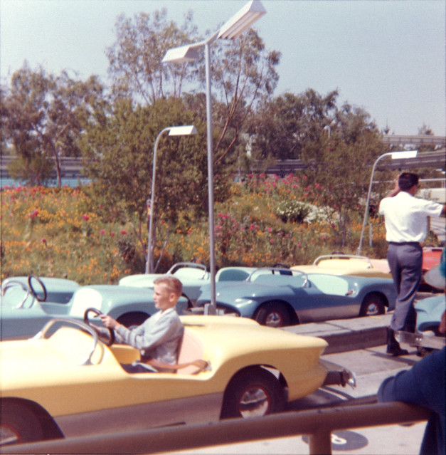 disneyland autopia 1963 flickr photo sharing