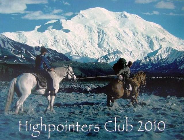 2010 Highpointers Calendar