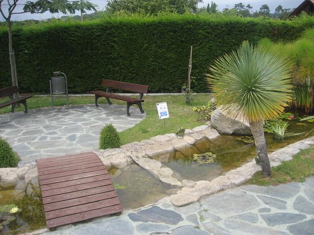 jardines traseros de nuestro hotel flickr photo sharing