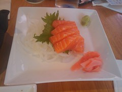 meal, salmon, sashimi, fish, sushi, food, dish, cuisine, asian food, smoked salmon,